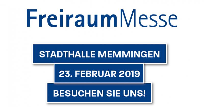 FreiraumMesse in Memmingen – 23. Februar 2019