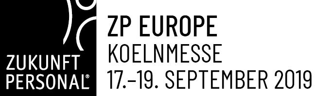 """Messe """"Zukunft Personal Europe"""" vom 17. bis 19.09.2019 in Köln"""