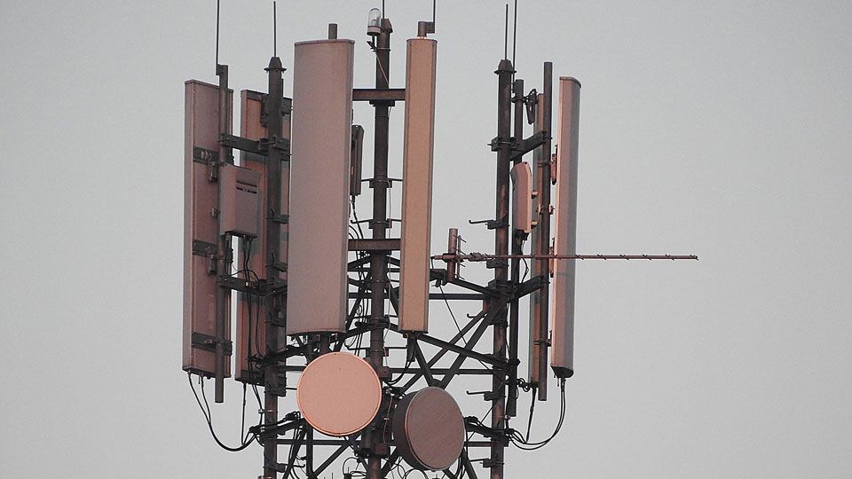 Sendemasten für den Mobilfunk