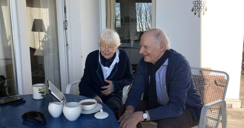 """""""Tante Laura"""" bringt Grüße zu alleinstehenden Senioren"""