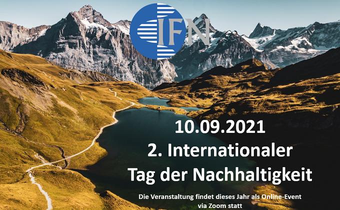 """Einladung zum """"2. Internationaler Tag der Nachhaltigkeit"""""""
